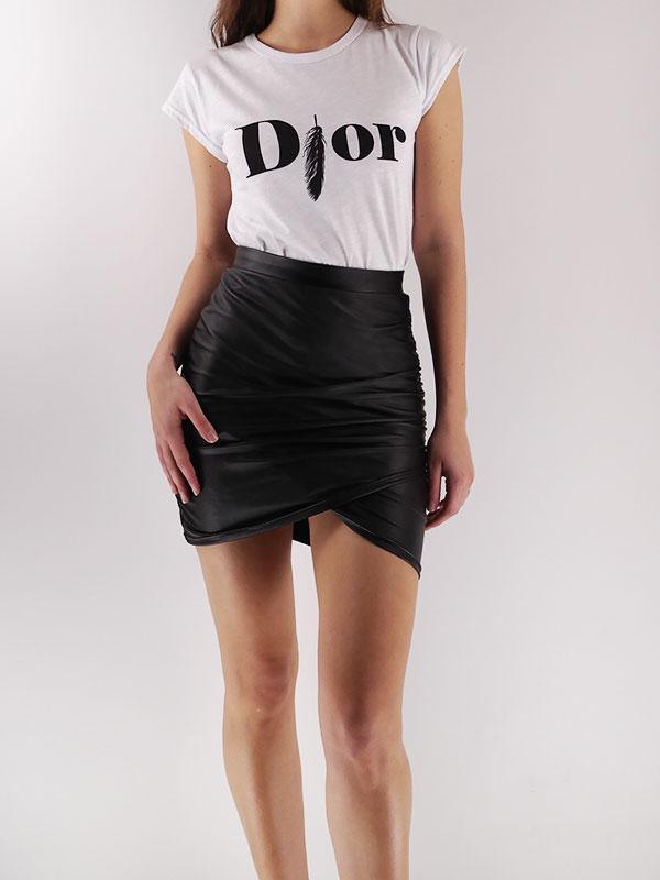 416cce1a2ed Μπλουζάκι με στάμπα - gfashion.gr   Γυναικεία Ρούχα Online